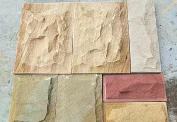 各色砂岩自然面