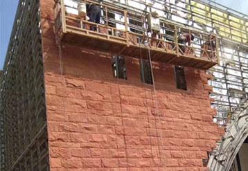 红砂岩外墙干挂工程案例